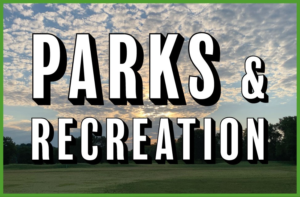 Parks and Recreation Picture Button